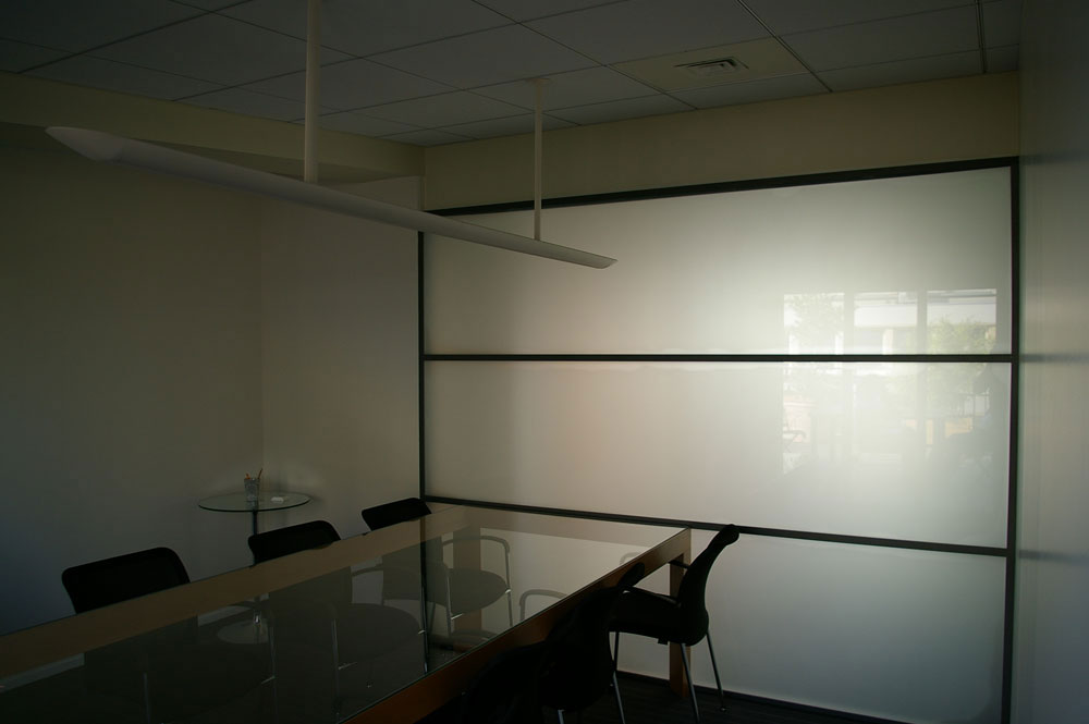 Nos verres opaques for Porte interieure transparente